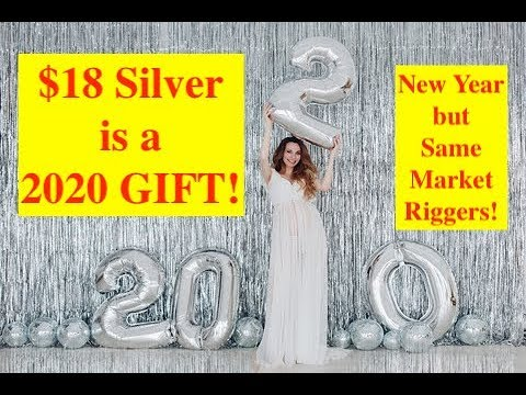 $18/oz. Silver is