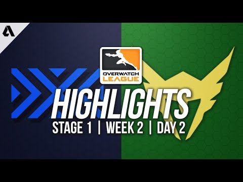 New York Excelsior vs Los Angeles Valiant ft MekO | Overwatch League Highlights OWL Week 2 Day 2