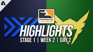 New York Excelsior vs Los Angeles Valiant | Overwatch League Highlights OWL Week 2 Day 2
