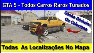 GTA5 - Localização de Carros Tunados Raros - Novos Locais - Money