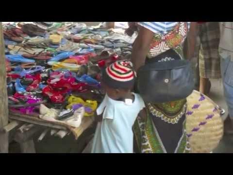 A Clothing Market in Beira, Mozambique