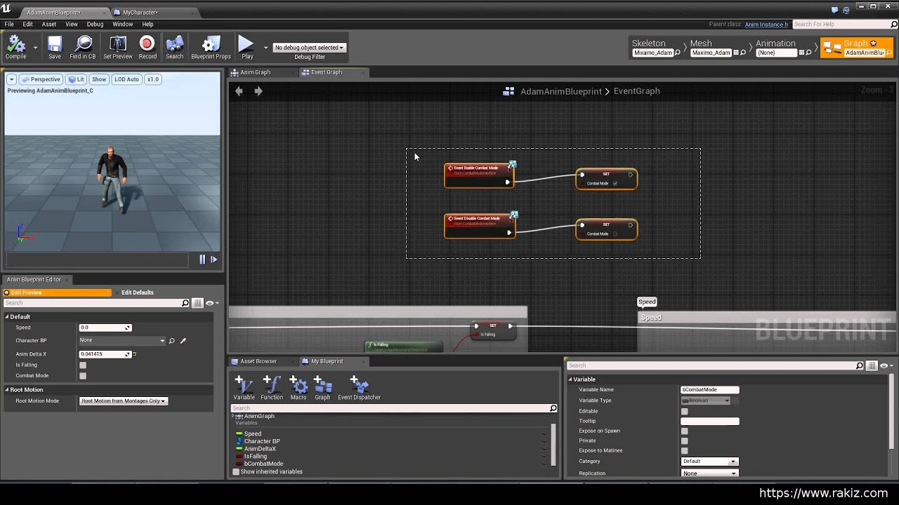 Ue4 4 create 2d blendspace for character combat mode youtube ue4 4 create 2d blendspace for character combat mode malvernweather Gallery