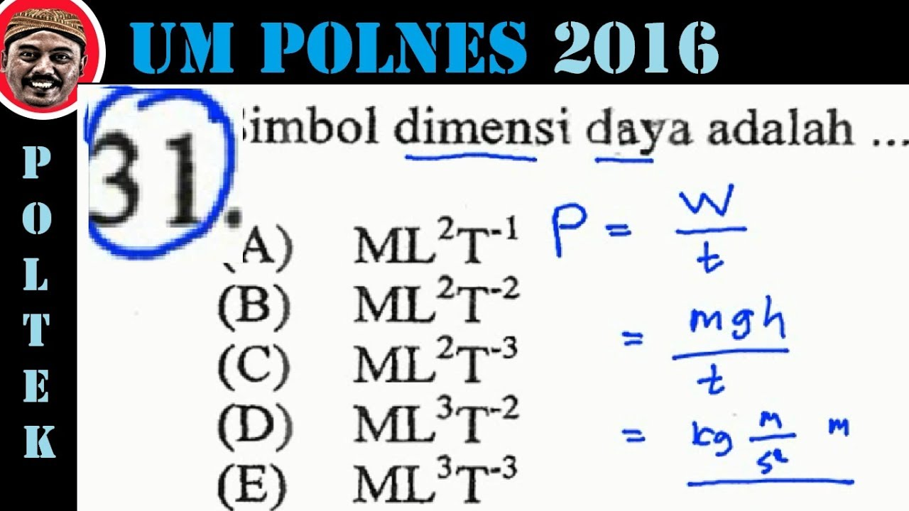 Soal Spa Polines 2016 Dan Pembahasan