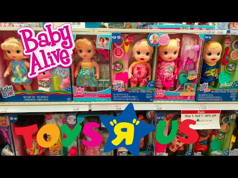 toys   baby alive doll toy hunting sweet tears baby