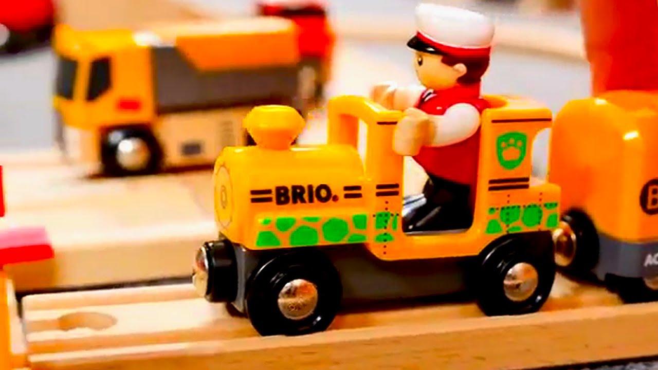 Trenes infantiles - Trenes y Autos - Carritos para niños - YouTube