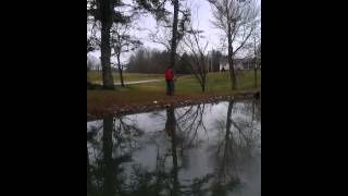 fishing at the house 03 11 15