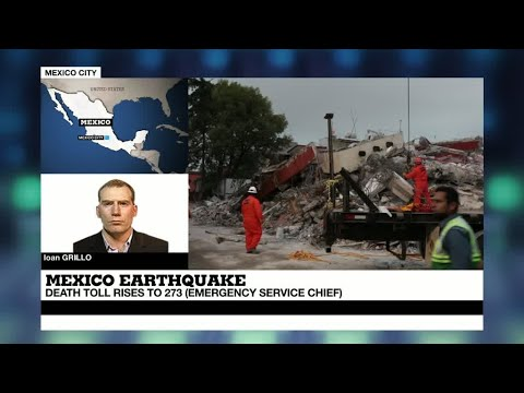 "Mexico quake: ""an incredible show of strength of civilians"""