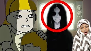 Reacting To True Story Scary Animations Part 14 (Do Not Watch Before Bed)