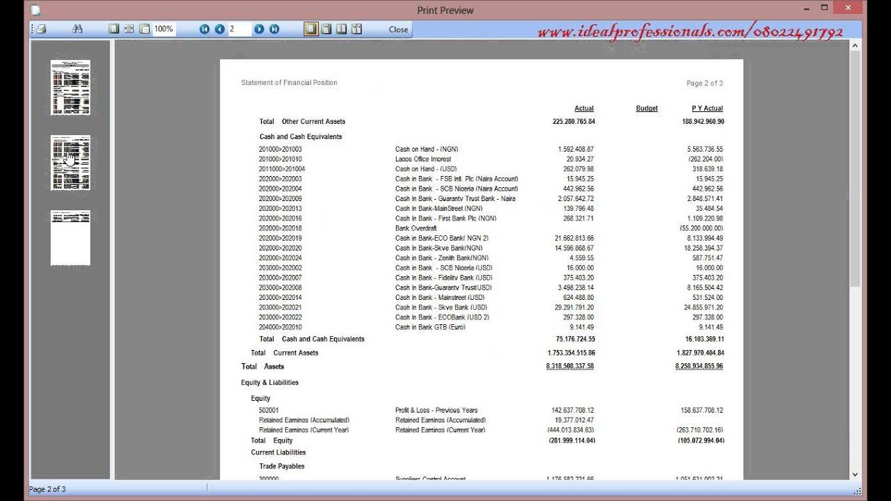 sage 50 how to add account balances