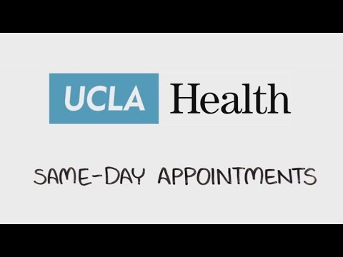 Same Day Appointments  UCLA Health
