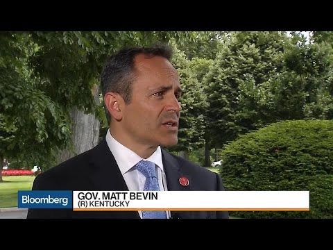 Kentucky Governor on Jobs, Health Care, Scalise Shooting