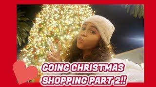 VLOGMAS | DAY 15 : CHRISTMAS SHOPPING !! || Asia Monet