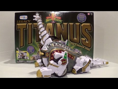 Legacy Titanus Unboxing/Review [Mighty Morphin Power Rangers]