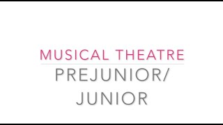 Pre Junior:Junior Musical Theatre