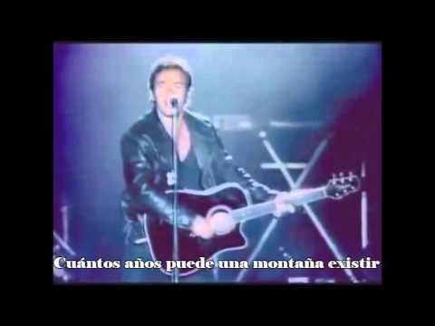 Blowin' in the wind - Springsteen - Subtitulos Castellano