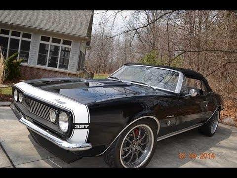 1967 chevy camaro convertible for sale auto appraisal southfield michigan youtube. Black Bedroom Furniture Sets. Home Design Ideas