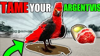 HOW TO TAME AN ARGENTVIS Ark mobile edition 2020!
