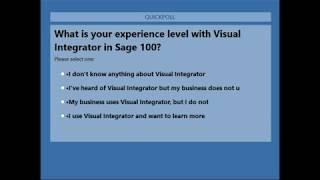 Visual Integrator Tips and Tricks - YouTube