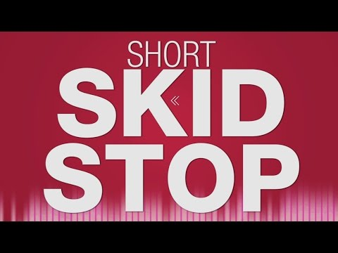 Skid Stop SOUND EFFECT - Car brakes Tire Screech Vollbremsung SOUNDS