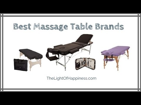 Best Massage Table Brands (2020 Buyers Guide)