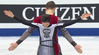 Короткая программа российских фигуристов Натальи Забияко и Александра Энберта чемпионат мира 2019