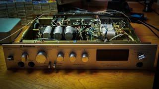 Ремонт підсилювача Радіотехніка У-101 (несправність каналу і захисту)