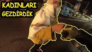 TURİST KADINLARA İSTANBUL'U GEZDİRDİK - MOTOVLOG -
