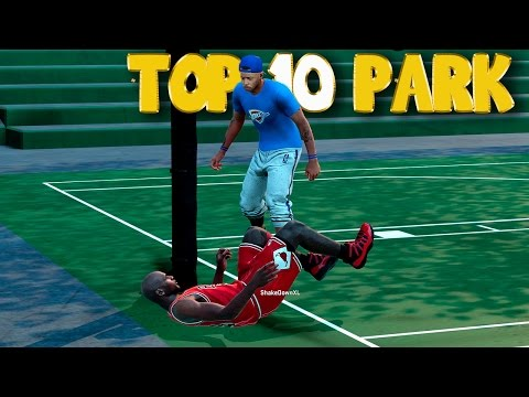 NBA 2K16 Top 10 MyPARK Plays Of The Week! Posterizers, Trickshots, Blocks & More