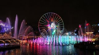 World of Color Celebrate Complete Show Disney California Adventure Disneyland 60th Anniversary Celeb