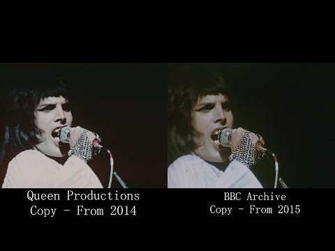 Queen -  at the Rainbow 19740331  COMPARISON