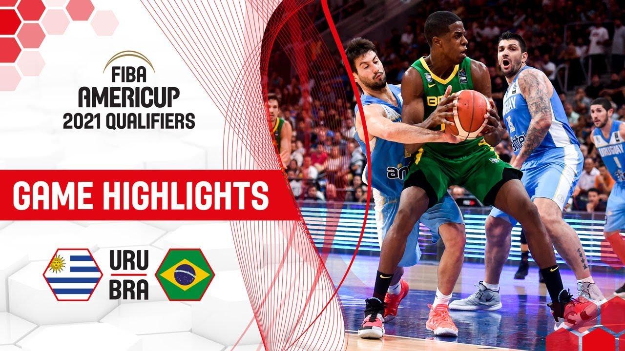 Uruguay v Brazil - Highlights - FIBA AmeriCup 2021 - Qualifiers