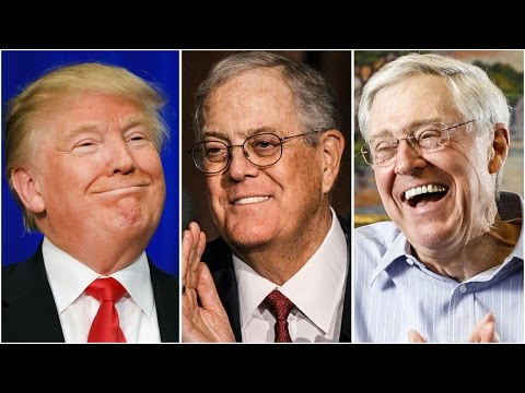 Koch Brothers Offer Million Dollar Bribes To Republicans To Vote Against Trumpcare