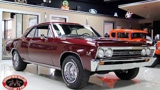 1967 Chevrolet Chevelle  Test Drive Classic Muscle Car for Sale in MI Vanguard Motor Sales