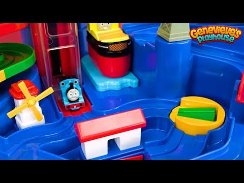 Download Thomas and Friends Train Playset and Puzzle for Kids!