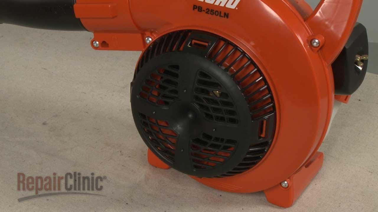 Echo Leaf Blower Fan Guard Replacement E104000110 Youtube