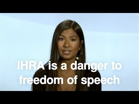 IHRA is a danger to freedom of speech