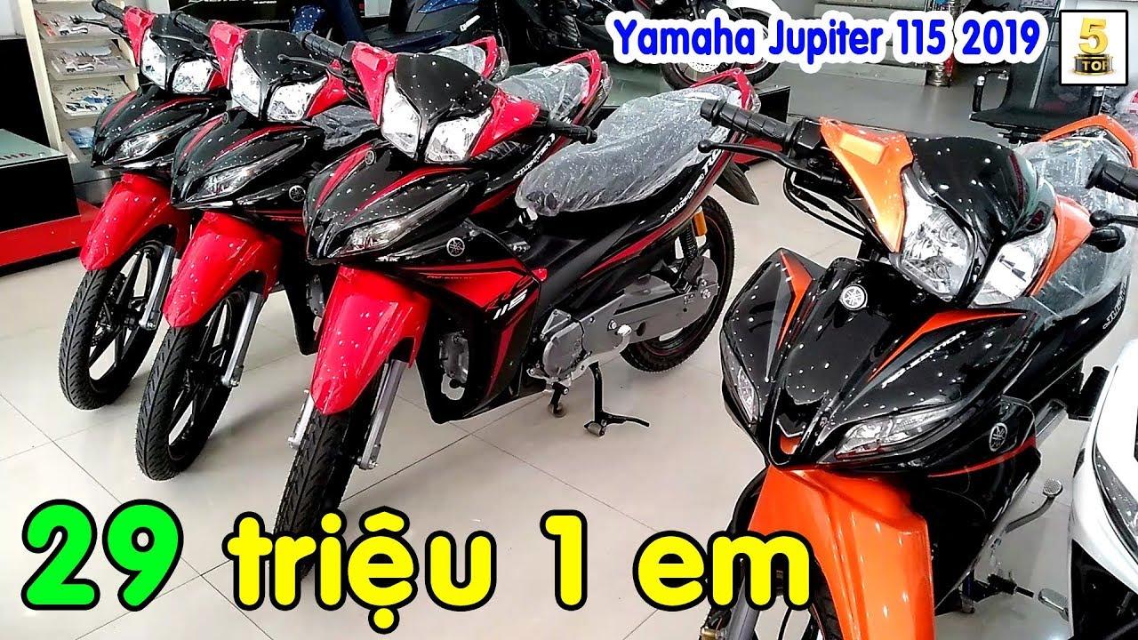 Giá xe Yamaha Jupiter 115 2019 cuối tháng 3 ▶️ Yamaha Jupiter 2019 giá đang rất TỐT 🔴 TOP 5 ĐAM MÊ