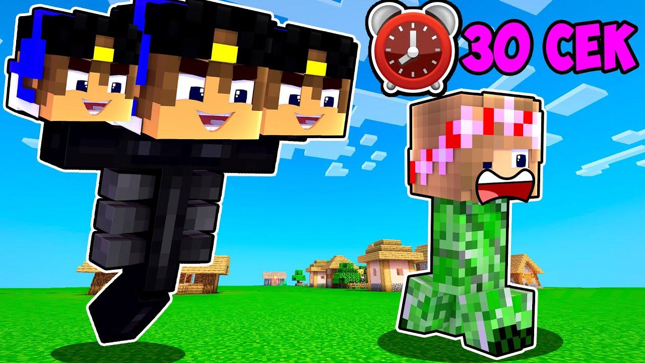 Майнкрафт но КАЖДЫЕ 30 СЕКУНД Мы Превращаемся В МОБОВ в Майнкрафте Троллинг Ловушка Minecraft