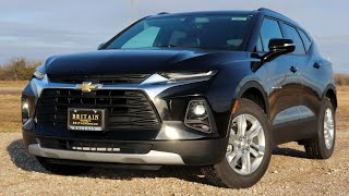 2019 Chevy Blazer Review & Drive | The Athletic Crossover?