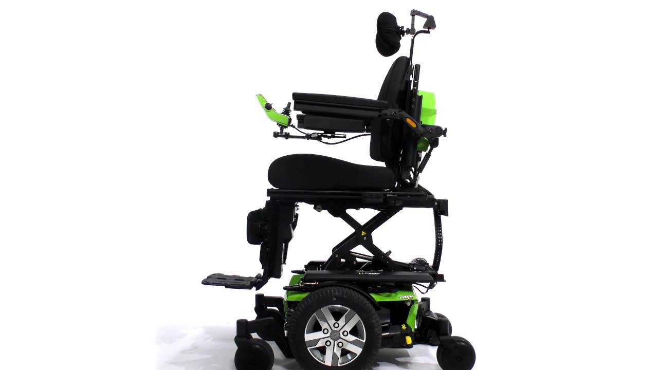 quantum wheelchair high chair pad graco ilevel power chairs seat elevation demonstration rehab