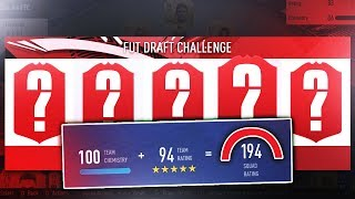 WHAT A DRAFT! - 194 FUT DRAFT CHALLENGE - FIFA 19 Ultimate Team
