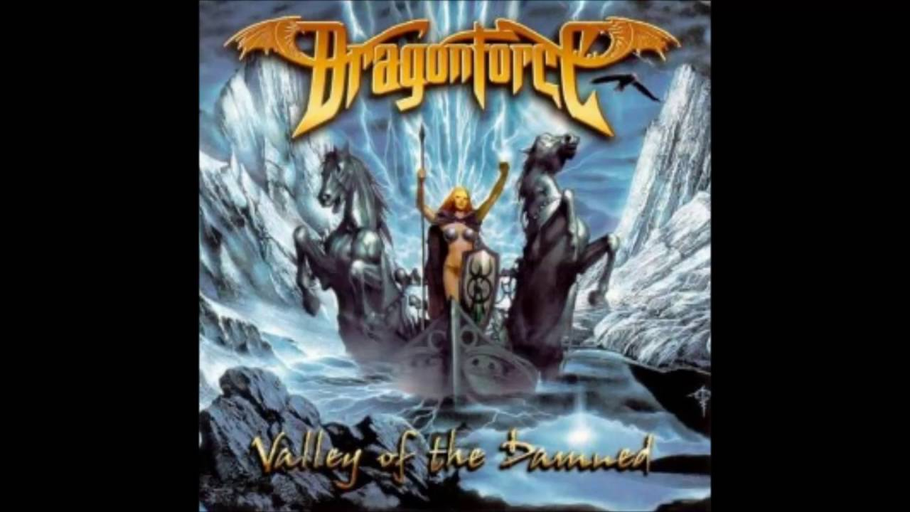 cd dragonforce valley damned 2003