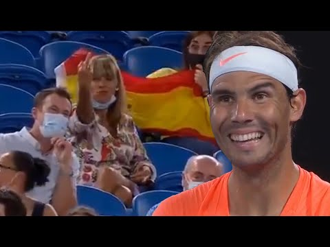 Rafael Nadal gets heckled at the Australian Open, a breakdown