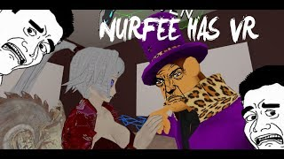VRChat: Nurfee Has VR! Mini Making Dirty Jokes (Funny Moments)