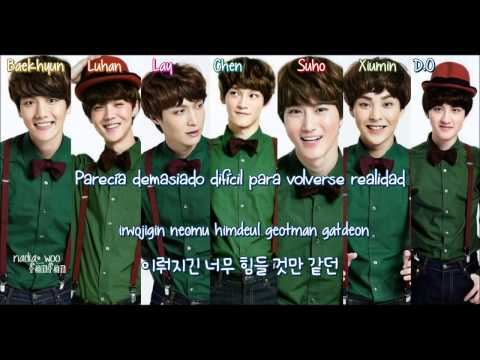 EXO - Christmas Day (Korean Version) [ Sub Español /Romanizacion/Hangul] (Color Coded)