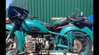 Мотоцикл К-750:  . 1968 года.. ПробеГ 152 км. Весь в стоке.