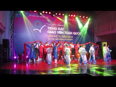 Truong Dai hoc Quy Nhon - Lien hoan tieng hat giao vien toan quoc 2016 - part 1