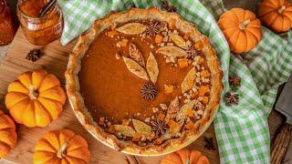 ТЫКВЕННЫЙ ПИРОГ | очень вкусный пай / тарт из тыквы | Homemade Pumpkin Pie | рецепты из тыквы