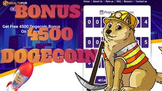 BONUS 4500 DOGECOIN BROOO....DAFTAR LANGSUNG DAPAT BONUS