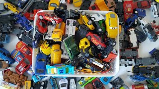 Box of Toys Vehicles For Children More than 100 toys Cars Video for Kids